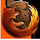 Firefox Wooden-128