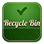 Recyclebin retro icon