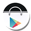 Round Playstore Icon