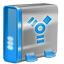 Firewire blue icon