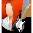 Guitarist Female Light-128