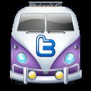 Twitter van purple-128
