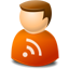 User web 2.0 rss Icon