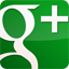 GooglePlus Gloss Green icon