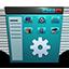 Control Panel blue icon