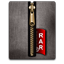 Rar gold black Icon