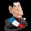 Nicolas Sarkozy icon