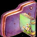 Book Violet Folder-128