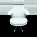 White Vinil Seat-128