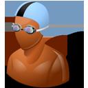 Swimmer Male Dark-128