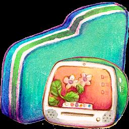 Computer Green Folder