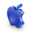 Mac darkblue icon
