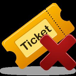Remove ticket