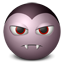 Dracula emoticon Icon