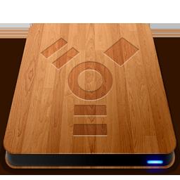 Wooden Slick Drives Firewire