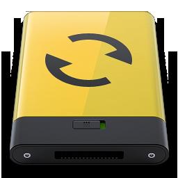 HDD Yellow Sync