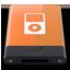 HDD Orange iPod W icon