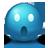 Blue Emoticon-48