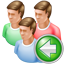 Group Back icon