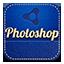 Photoshop retro icon