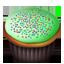 Cupcakes green icon
