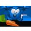 Blue Rabbit Icon