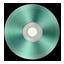 Light Green Metallic CD icon