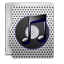 iTunes metal icon