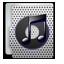 iTunes metal Icon