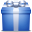 Gift Blue icon