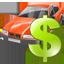 Rent a car icon