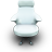 White Vinil Seat-48
