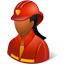 Firefighter Female Dark-64