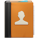 Address Book ornage-128