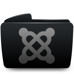 Folder black joomla