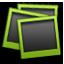 Polaroid green icon