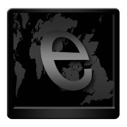 Black Internet Explorer