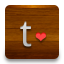 Tumblr Love icon