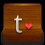 Tumblr Love icon