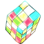 Rubik Cartoon icon