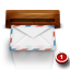 Wooden Mail icon