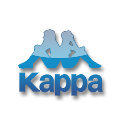 Kappa blue logo