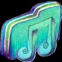 Music Alt Green Folder