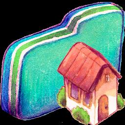 Home Green Folder