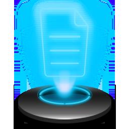 Notepad Hologram