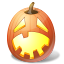 Hysterical Pumpkin Icon