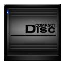 Black Compact Disc Drive-128