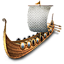 Viking Warship icon