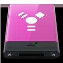 HDD Pink Firewire W-128