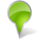 Map Marker Bubble Chartreuse-128